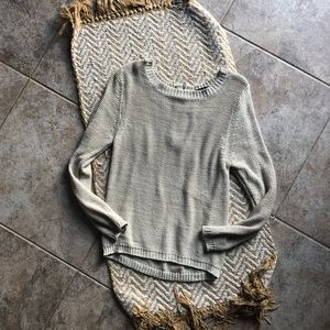 Chunky knit sweater size L